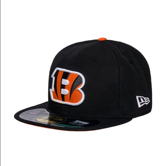 lower price with 23d3e 2a3f6 New Era NFL Cincinnati Bengals Fitted Hat 7 7 8